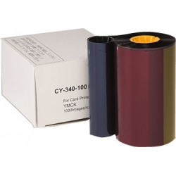 Ribbon retransfer YMCK 1000 images SECUMIND II CX320/330/7000